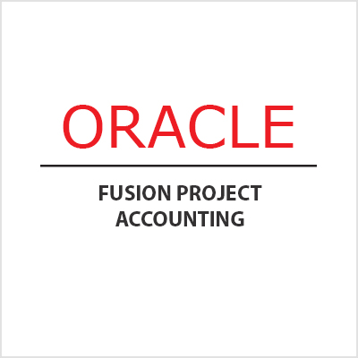 Oracle Fusion Project Accounting